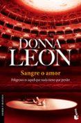 SANGRE O AMOR de LEON, DONNA