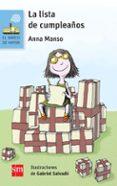 LA LISTA DE CUMPLEAÑOS di MANSO MUNNE, ANNA