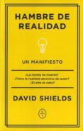HAMBRE DE REALIDAD di SHIELDS, DAVID