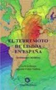 EL TERREMOTO DE LISBOA EN ESPAÑA di UDIAS VALLINA, AGUSTIN