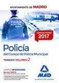 9788414207352 - Vv.aa.: Policía Del Cuerpo De Policía Municipal Del Ayuntamiento De Madrid. Te - Libro