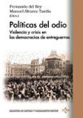 9788430971152 - Vv.aa.: Políticas Del Odio - Libro