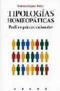 TIPOLOGIAS HOMEOPATICAS di LOPEZ SALES, CARMEN
