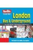 London Bus And Underground Pocket Map