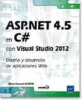 ASP.NET 4.5 EN C# CON VISUAL STUDIO 2012 di VV.AA