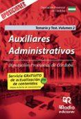 9788416963553 - Vv.aa.: Auxiliares Administrativos. Diputación Provincial De Córdoba. Tem Ario - Libro