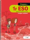 9788441230354 - Vv.aa.: Quadern Prepara Llengua Catalana 1º Eso Ed 2017 - Libro