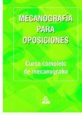 MECANOGRAFIA PARA OPOSICIONES di VV.AA.