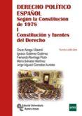 DERECHO POLITICO ESPAÑOL: SEGUN LA CONSTITUCION DE 1978 (TOMO I: CONSTITUCION Y FUENTES DEL DERECHO) (6ª ED.) di VV.AA.