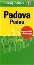 PADUA CENTROCITTA, PLANO CALLEJERO PLASTIFICADO DE BOLSILLO di VV.AA.
