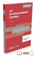 LEY DE ENJUICIAMIENTO CRIMINAL di ALONSO GARCIA, RICARDO