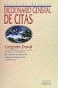 DICCIONARIO GENERAL DE CITAS (3ª ED) di DOVAL, GREGORIO