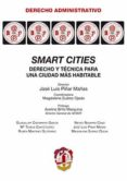 SMART CITIES de PIÑAR MAÑAS, JOSE LUIS