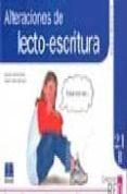 RED SEGUIMIENTO (8-10 AÑOS) 2.1B ALTERACIONES DE LECTO-ESCRITURA di GARCIA NIETO, NARCISO  YUSTE HERNANZ, CARLOS