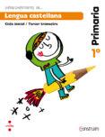 LENGUA CASTELLANA. CUADERNO DE ACTIVIDADES 3. CONSTRUÏM 1º EDUCACION PRIMARIA ED 2014 di VV.AA
