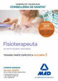 9788414207963 - Vv.aa.: Fisioterapeuta De Las Instituciones Sanitarias De La Conselleria De Sa - Libro