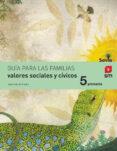 VALORES SOCIALES Y CÍVICOS 5º PRIMARIA SAVIA ED 2014 CASTELLANO di VV.AA.