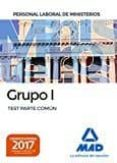 9788414207864 - Vv.aa.: Personal Laboral De Ministerios Grupo I. Test Parte Común - Libro