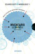 INVENTARIO DE INVENTOS (INVENTADOS) de BERTI, EDUARDO