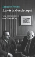LA VISTA DESDE AQUI de PUIG, VALENTI