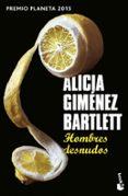 HOMBRES DESNUDOS di GIMENEZ BARTLETT, ALICIA