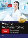 9788468180366 - Vv.aa.: Auxiliar Administrativo Comunidad De Madrid: Test - Libro