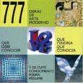 (PE) 777 OBRAS DE ARTE MODERNO di VV.AA.