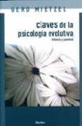 CLAVES DE LA PSICOLOGIA EVOLUTIVA: INFANCIA Y JUVENTUD di MIETZEL, GERD