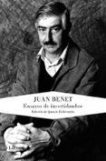 ENSAYOS DE INCERTIDUMBRE di BENET, JUAN