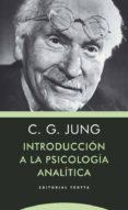 INTRODUCCIÓN A LA PSICOLOGÍA ANALÍTICA di JUNG, CARL GUSTAV