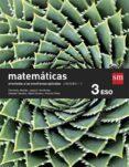 MATEMÁTICAS A TRIMESTRES (ORIENTADAS A LAS ENSEÑANZAS APLICADAS) 3º ESO SAVIA-15 di VV.AA