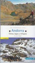 ANDORRA. CIMAS, VALLES Y REFUGIOS (INCLUYE 26 MAPAS) di GREGORI, F. XAVIER
