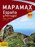 MAPAMAX 2018: ESPAÑA Y PORTUGAL (15ª ED.) di VV.AA.