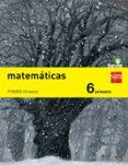 MATEMÁTICAS 6º EDUCACION PRIMARIA TRIMESTRAL SAVIA ED 2015 di VV.AA.