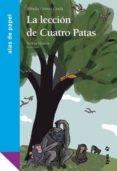 LA LECCION DE CUATRO PATAS de GOMEZ CERDA, ALFREDO