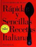 RAPIDAS Y SENCILLAS RECETAS ITALIANAS (LA CUCHARA DE PLATA) di VV.AA.