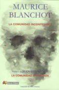 LA COMUNIDAD INCONFESABLE di BLANCHOT, MAURICE