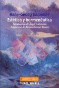 ESTETICA Y HERMENEUTICA (3ª ED.) de GADAMER, HANS-GEORG