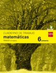 MATEMÁTICAS 6º EDUCACION PRIMARIA CUADERNO 1º TRIMESTRE SAVIA ED 2015 di VV.AA.