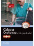 9788468158877 - Vv.aa.: Celador. Servicio Vasco De Salud-osakidetza. Temario - Libro