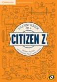 CITIZEN Z INT B1+ STUDENT BOOK AUGMENTED REALITY di VV.AA.