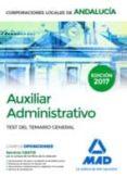 9788414207178 - Vv.aa.: Auxiliar Administrativo De Corporaciones Locales De Andalucía. Test De - Libro