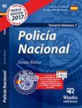 9788416963379 - Vv.aa.: Policia Nacional: Temario (vol. 2) 2017 - Libro