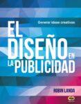 EL DISEÑO EN LA PUBLICIDAD: GENERAR IDEAS CREATIVAS (ESPACIO DE DISEÑO) de LANDA, ROBIN