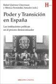PODER Y TRANSICIÓN EN ESPAÑA di VV.AA.