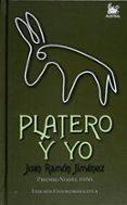 PLATERO Y YO (EDICION ESPECIAL) de JIMENEZ, JUAN RAMON