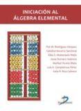 INICIACION AL ALGEBRA ELEMENTAL di VV.AA.