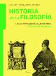 HISTORIA DE LA FILOSOFIA (VOL.1.2):DE LA ANTIGÜEDAD A LA EDAD ME IA:PATRISTICA Y ECOLASTICA di REALE, GIOVANNI  ANTISERI, DARIO