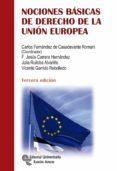 NOCIONES BÁSICAS DE DERECHO DE LA UNIÓN EUROPEA di VV.AA.