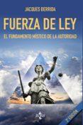 FUERZA DE LEY (3ª ED.) di DERRIDA, JACQUES